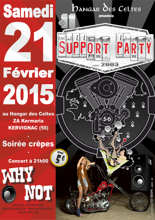 Support Party 2015